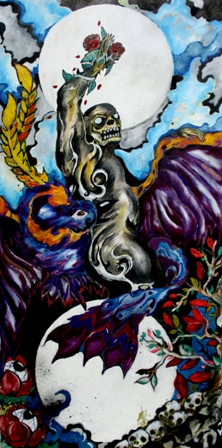 small 001 Safrie Effendi, The Oracle  40x120cm, Mixed media on Canvas.jpg